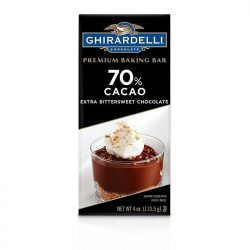 Ghirardelli 70% Extra Bittersweet Chocolate Baking Bar