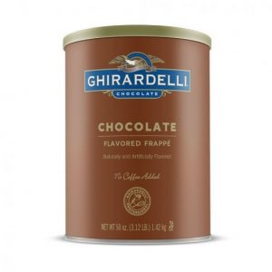 Ghirardelli Chocolate Frappé Mix
