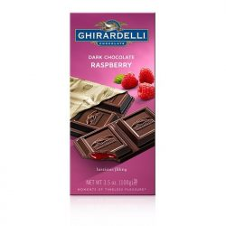 Ghirardelli Dark Chocolate Raspberry Filling Bar