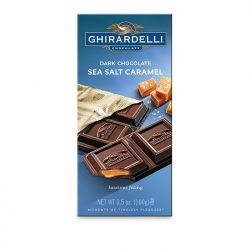 Ghirardelli Dark Chocolate Sea Salt Caramel Filling Bar