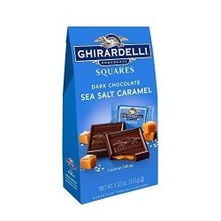 Ghirardelli Dark Chocolate & Sea Salt Caramel Squares