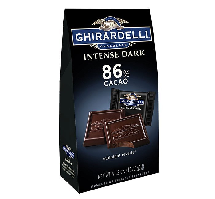 Ghirardelli Midnight Reverie 86% Dark Chocolate Squares