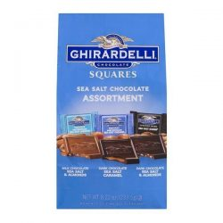 Ghirardelli Sea Salt Chocolate Square Assortment