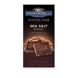 Ghirardelli Sea Salt Soiree Dark Chocolate Bar