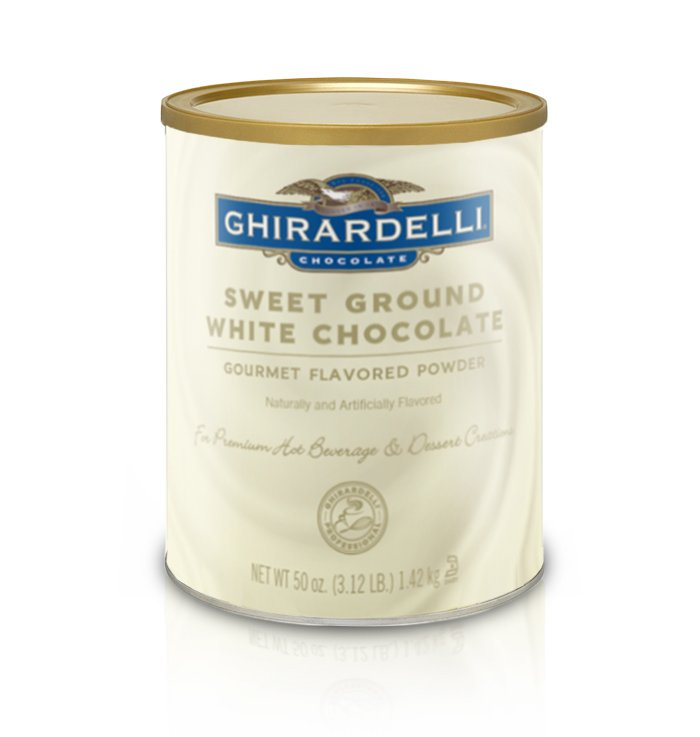 Ghirardelli Sweet Ground White Chocolate Powder
