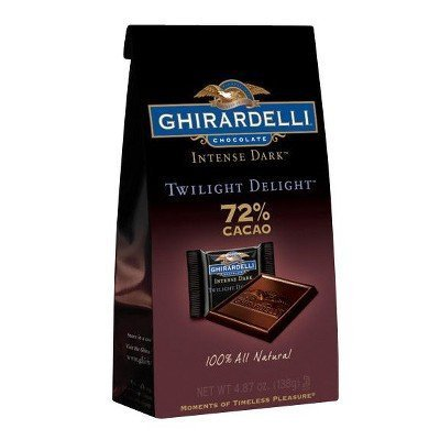Ghirardelli Twilight Delight 72% Dark Chocolate Squares