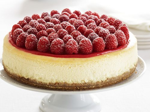 Ghirardelli White Chocolate Cheesecake