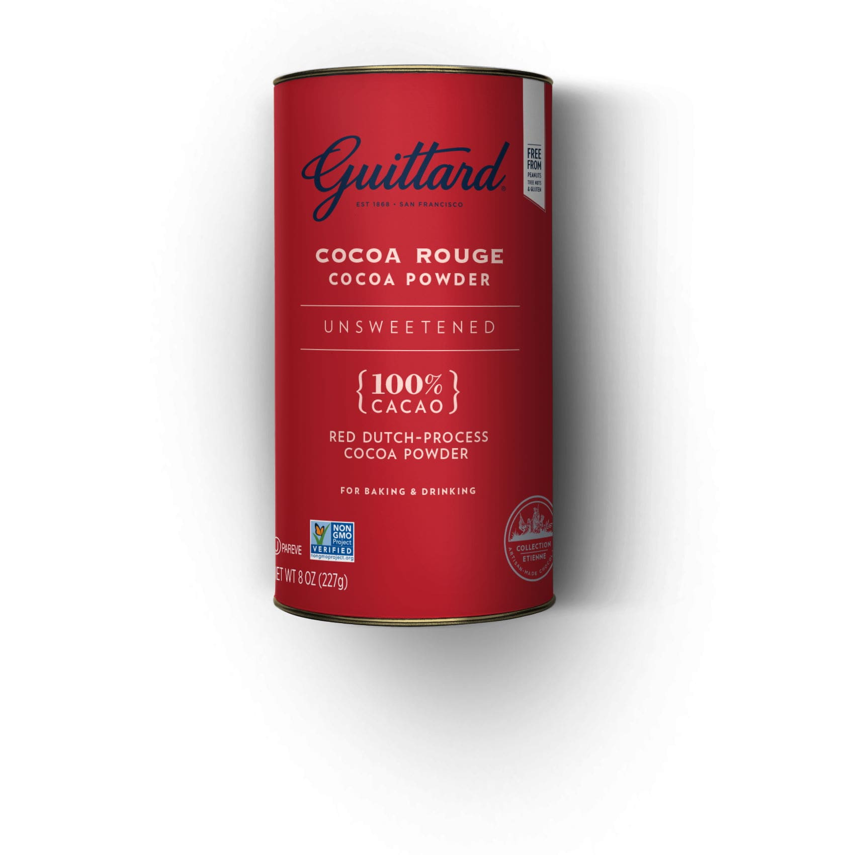 Guittard Cocoa Rouge Tin