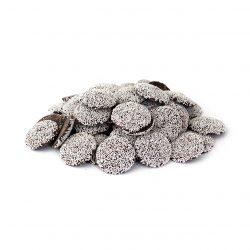 Guittard Semisweet Dark Chocolate Wafers with Nonpareils