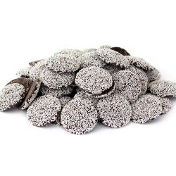 Guittard Semisweet Dark Chocolate Wafers with Nonpareils