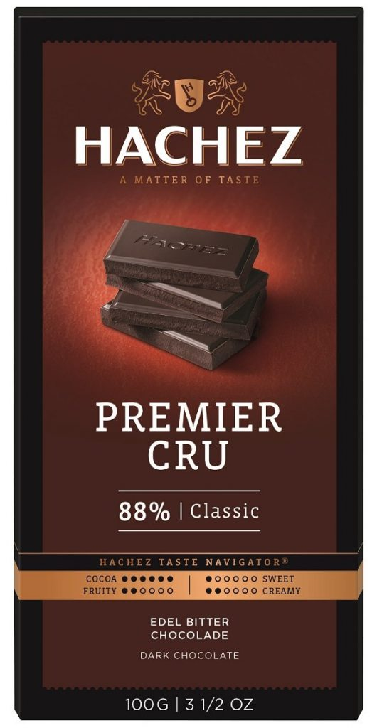 Hachez 88% Classic Dark Chocolate Bar