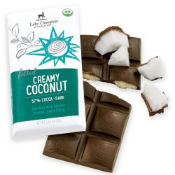 Lake Champlain 57% Creamy Coconut Dark Chocolate Bar