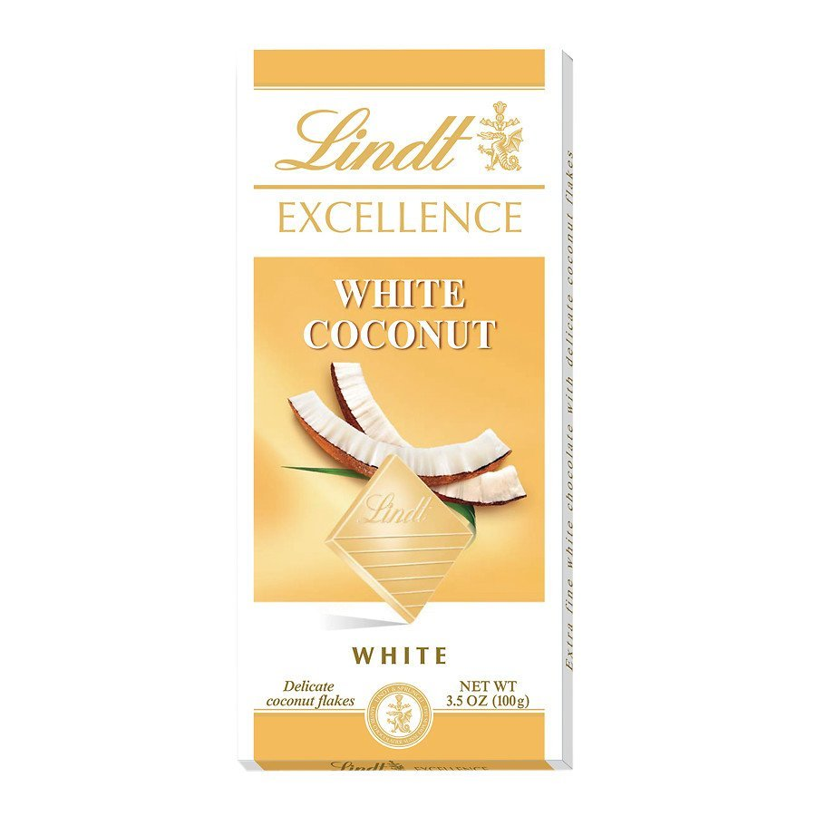 Lindt Excellence Coconut White Chocolate Bar