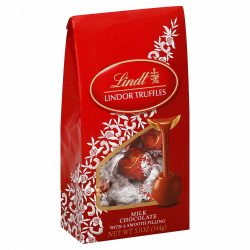 Lindt LINDOR Milk Chocolate Truffle Bag (5.1oz)