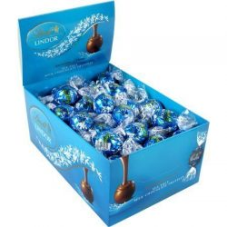 Lindt LINDOR Sea Salt Milk Chocolate Truffle Box