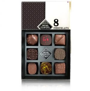 Michel Cluizel 8-Piece Chocolate Gift Box