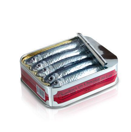 Michel Cluizel Milk Chocolate Sardines