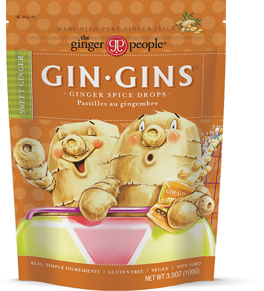 The Ginger People Gin Gins Ginger Spice Drops