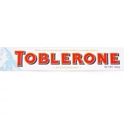 Toblerone Honey & Almond Nougat White Chocolate Bar