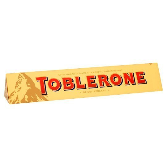 Toblerone XL Honey & Almond Nougat Milk Chocolate Bar