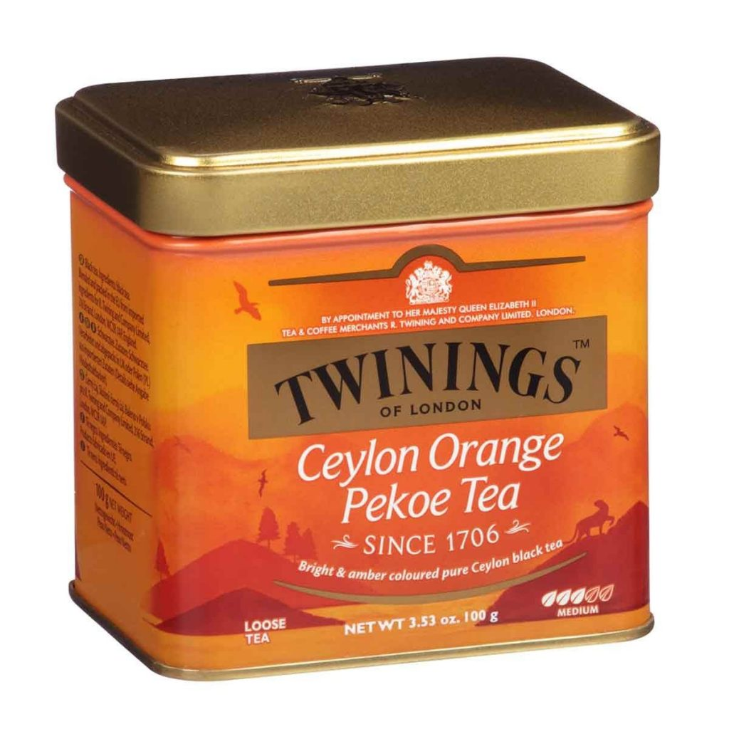 Twinings Ceylon Orange Pekoe Tea Tin