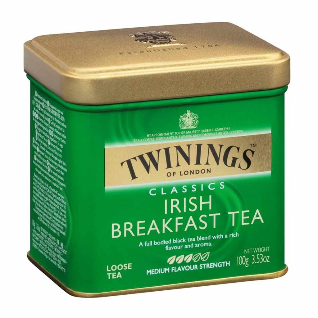 Twinings Irish Breakfast Tea Tin
