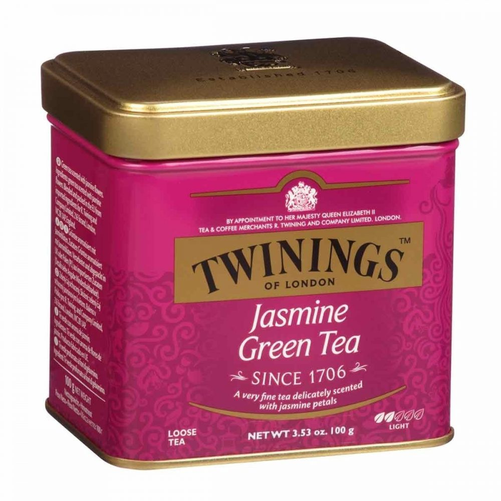 Twinings Jasmine Green Tea Tin