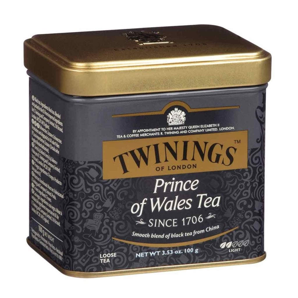 Twinings Prince Of Wales Tea Tin