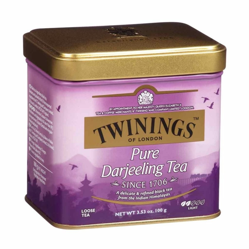 Twinings Pure Darjeeling Tea Tin
