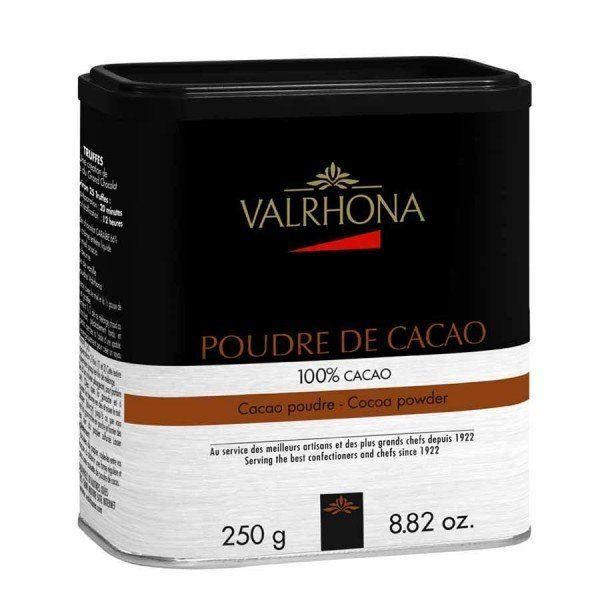 Valrhona Cocoa Powder Tin
