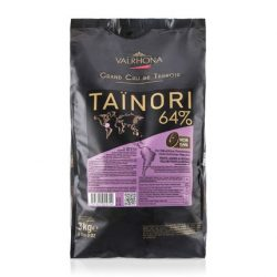 Valrhona Tainori 64% Dark Chocolate Baking Feves Bag