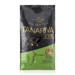 Valrhona Tanariva Lactee 33% Milk Chocolate Baking Feves