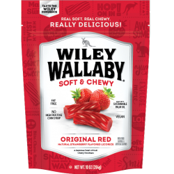 Wiley Wallaby Red Australian Style Liquorice