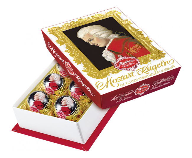 Reber Mozart Portrait Box