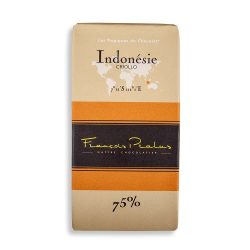 François Pralus Indonésie 75% Dark Chocolate Bar