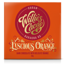 Willie's Cacao Luscious Orange 65% Dark Chocolate Bar