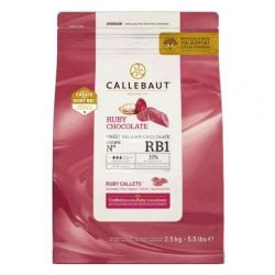 Callebaut RB1 33% Ruby Callets
