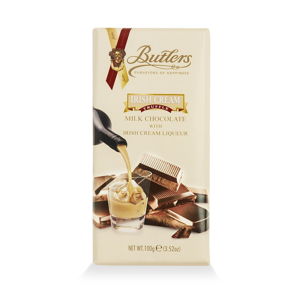 Butlers Milk Chocolate Bar with Irish Cream Liqueur