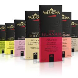 Valrhona Chocolate Bar Display