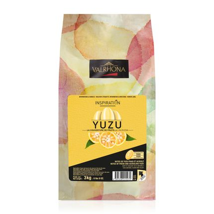 Valrhona Yuzu Inspiration Couverture Baking Feves