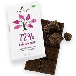 Lake Champlain 72% Dark Chocolate Bar