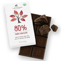 Lake Champlain 80% Dark Chocolate Bar