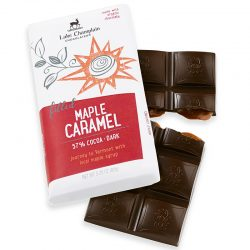 Lake Champlain Maple Caramel 57% Dark Chocolate Bar