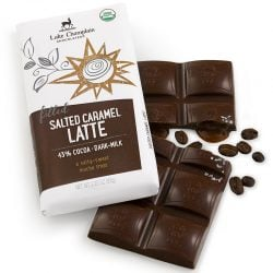 Lake Champlain Salted Caramel Latte 43% Dark-Milk Chocolate Bar