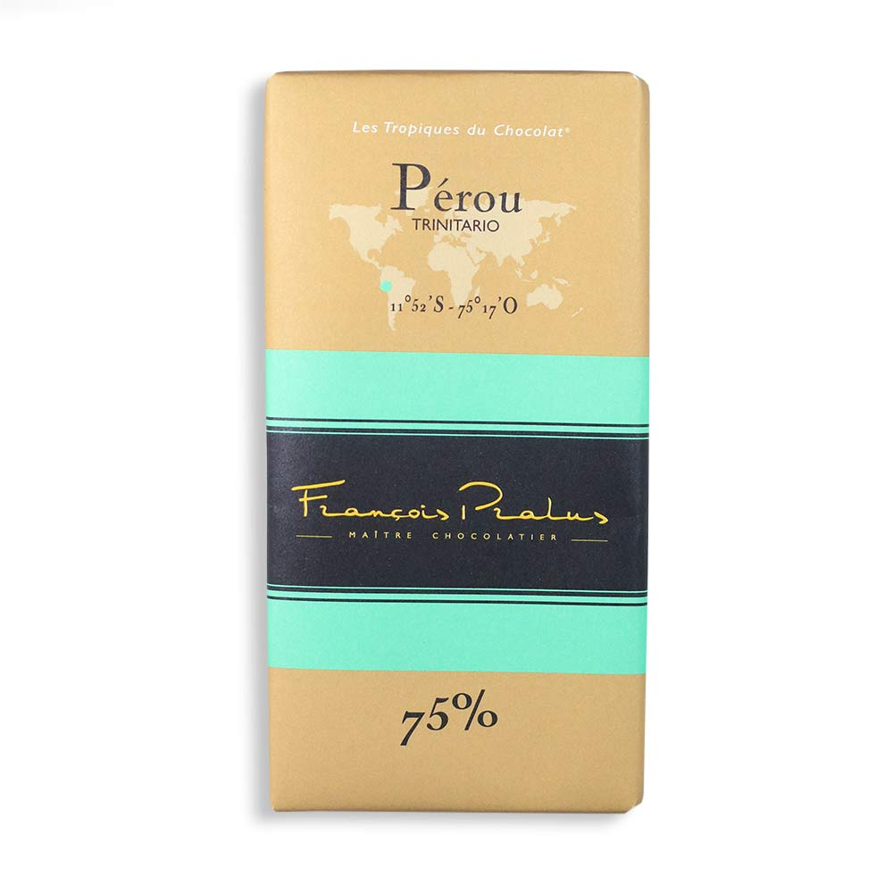François Pralus Pérou 75% Dark Chocolate Bar