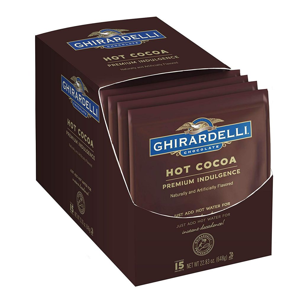 Ghirardelli Hot Cocoa Display
