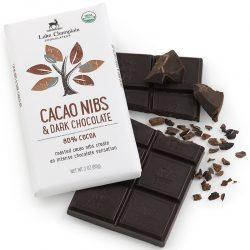 Lake Champlain Cacao Nibs in 80% Dark Chocolate