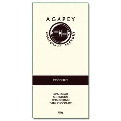 Agapey 60% Coconut Dark Chocolate Bar