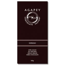 Agapey 60% Espresso Dark Chocolate Bar