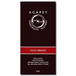 Agapey 70% Cacao Grenada Dark Chocolate Bar